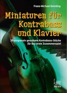 Deimling Miniaturen für Kontrabass und Klavier